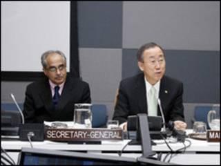 UN Chief and Burma advisor
