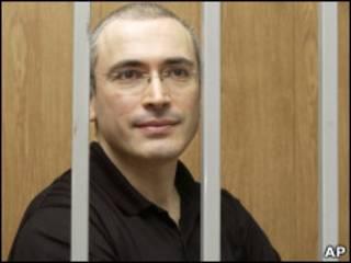 Михаил Ходорковский за решеткой