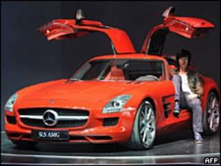 मर्सिडीज़ एसएलएस एएमजी (फ़ाइल फ़ोटो)