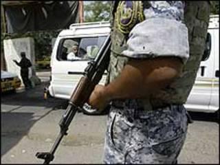 Policiais iraquianos