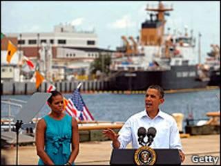 Barack Obama pronuncia un discurso