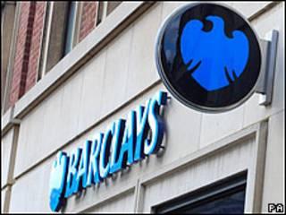 Cartel del banco Barclays