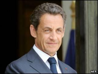 Shugaban kasar Faransa, Nicholas Sarkozy