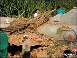 هواپیمای کره شمالی در چین سقوط کرد