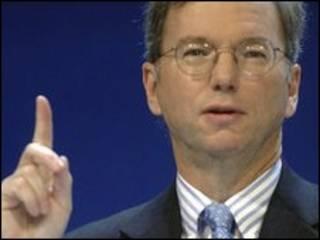 Eric Schmidt, director de Google