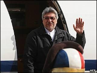 El presidente paraguayo, Fernando Lugo