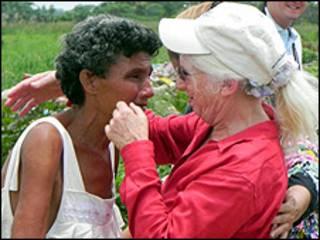 Nancy Wexler y Ángela