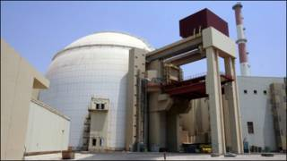 تصویری از نیروگاه اتمی بوشهر