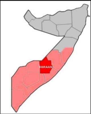Gobolka Hiiraan ee Somalia