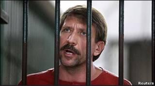 Віктор Бут за ґратами у Таїланді