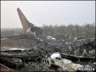 Acidente deixou 42 mortos (Reuters, 25 de agosto)