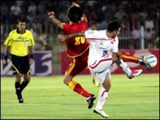 بازی پرسپولیس و فولاد خوزستان - عکس از فارس