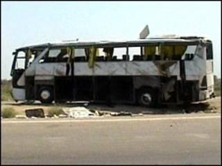 اتوبوس حامل زائران در عراق