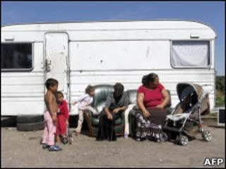 Acampamento roma (arquivo)