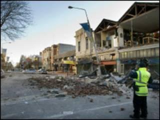 زلزال نيوزيلندا