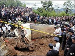 Оползни в Гватемале
