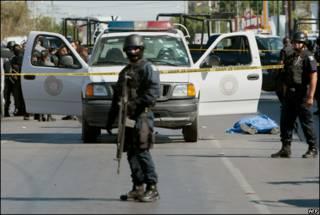 Мексиканская полиция