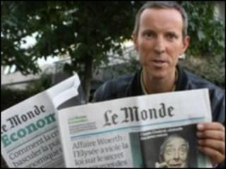 फ्रांस का अख़बार 'लै मॉन्डे'