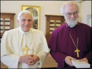 Paparoma Benedict da Archbishop William