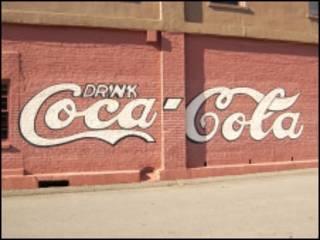 Самая старая наружная реклама Coca-Cola