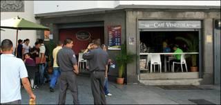 Café Venezuela, en Caracas