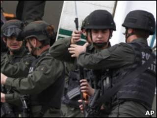 Полицейский спецназ