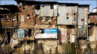 धारावी की झुग्गियां