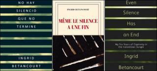 Capa del nuevo libro de Ingrid Betancourt