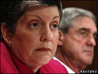 Secretária de Segurança Interna dos EUA, Janet Napolitano. Foto: Reuters