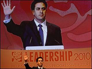 Sabon shugaban jam'iyyar labour Ed Miliband