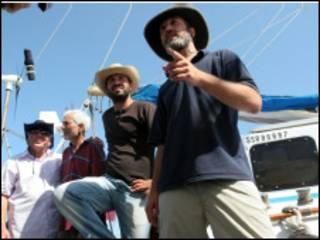 غزہ کے لیے روانہ ہونے والی یہودی کشتی