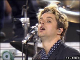 Billie Joe Armstrong, cantante de Green Day