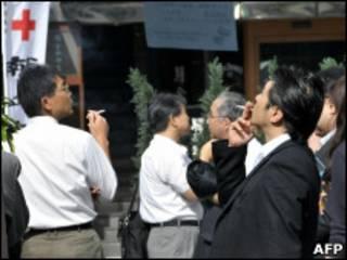 Японские курильщики