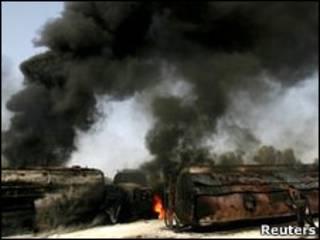 पाकिस्तान में ड्रोन हमले