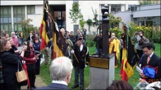 Lễ khánh thành tượng đài