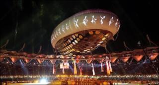 Inauguración de los Juegos de la Mancomunidad Británica