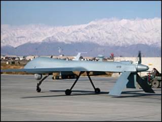 فائل فوٹو، ڈرون حملہ