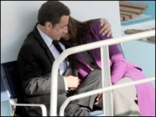 Саркози и Бруни