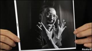 Фото дисидента Лю Сяобо
