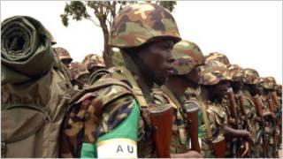 Abasirikare b'u Burundi baro muri AMISOM