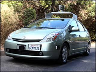 गूगल की कार
