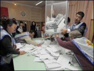 انتخابات در قرقیزستان