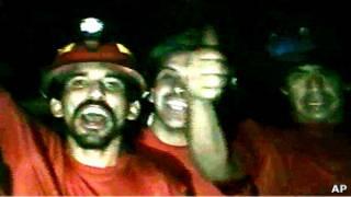 Abakozi bari baheze mu kirombwe muri Chile