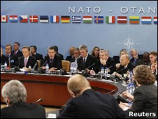Встреча министров стран-участниц НАТО в Брюсселе