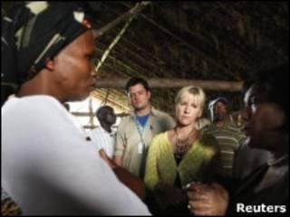 Разговор с жительницей ДРК