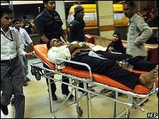 Жертва насилия в Карачи