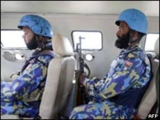 Dakarun kiyaye zaman lafiya a Darfur