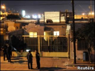 Мексиканские полицейские в Сьюдад-Хуарес