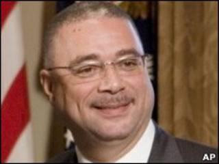 Покойный премьер-министр Барбадоса Дэвид Томпсон