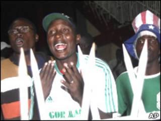 Кенийские болельщики